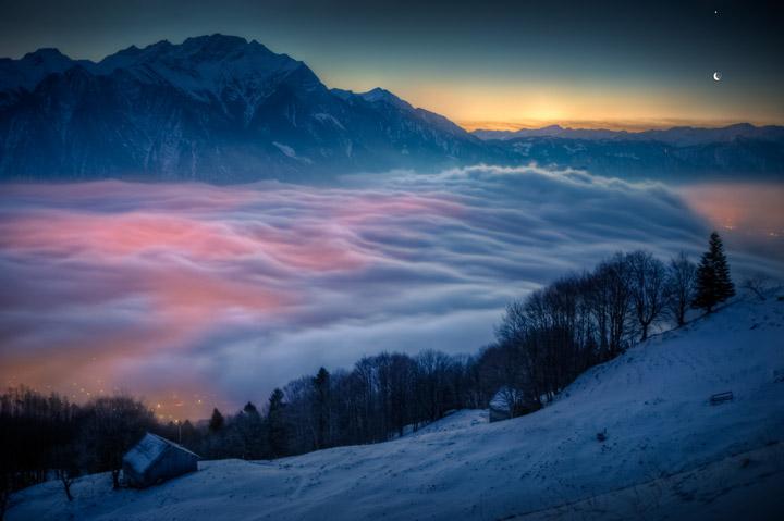 kış manzaralı fotoğraflar