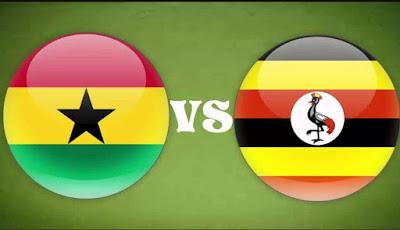 أوغندا تتعادل مع غانا بدون اهداف السبت 7-10-2017 فى تصفيات كأس العالم 2018 : أفريقيا