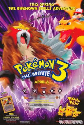 Pokemon Movie 3: Đế Vương Của Tháp Pha Lê Entei (2001)