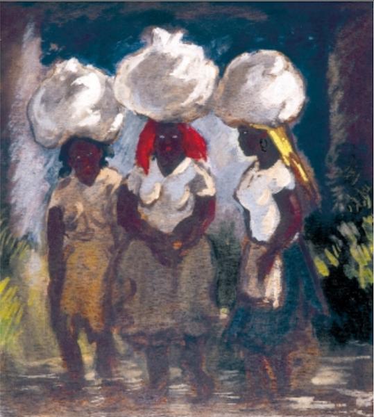 Tres lavanderas, Yoryi Morel, 1969