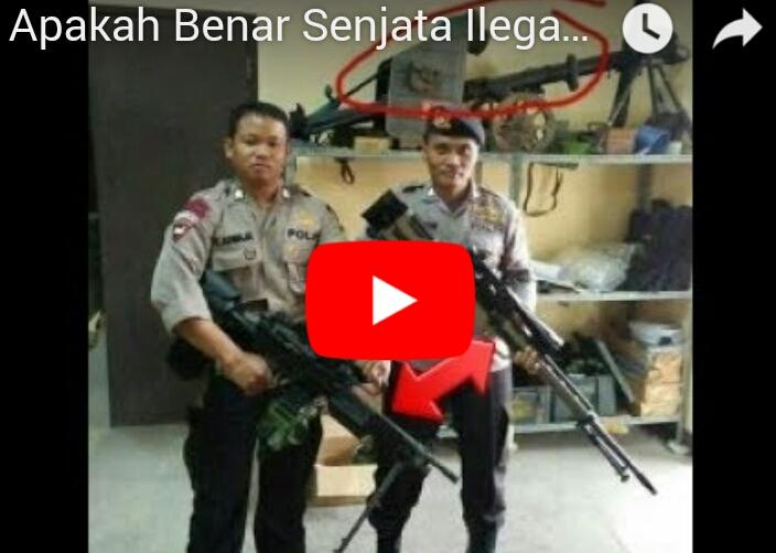 """Beredar Video """"Senjata Polisi Sekarang Melebihi TNI"""", Kapolri Didesak Klarifikasi"""