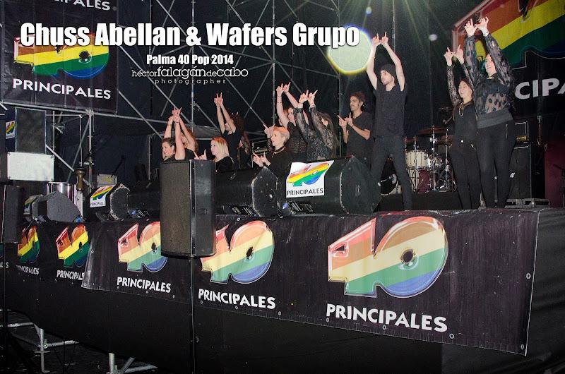 Chuss Abellan & Wafers Grupo en el Palma 40 Pop 2014. Héctor Falagán De Cabo | hfilms & photography.