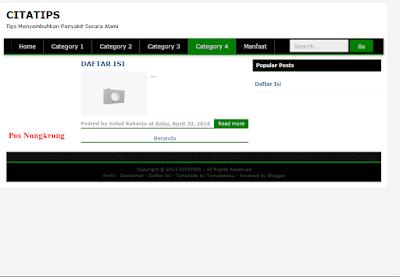 Download Template Seo 3 Kolom Putih