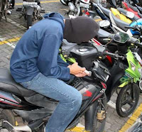 Pencurian motor rentan terjadi di warnet