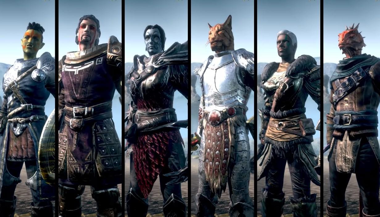 Game The Elder Scroll: Blades