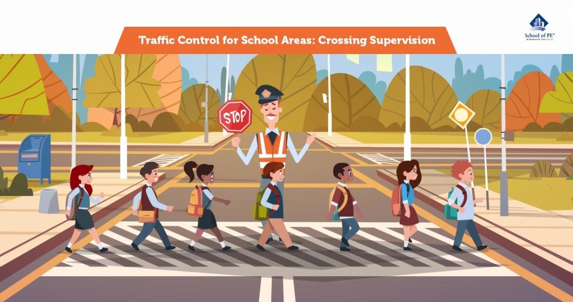Traffic Control for School Areas