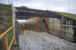 Barragem Poxim Açu não corre o menor risco de rompimento