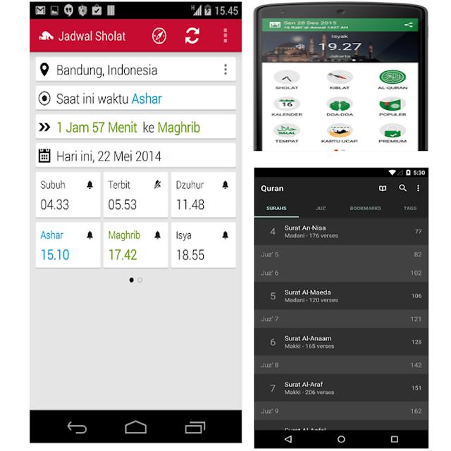15 Aplikasi Handphone Android Untuk Memaksimalkan Ibadah Puasa Di Bulan Suci Ramadhan