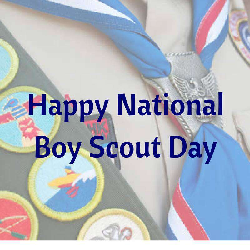 National Boy Scout Day Wishes Images download