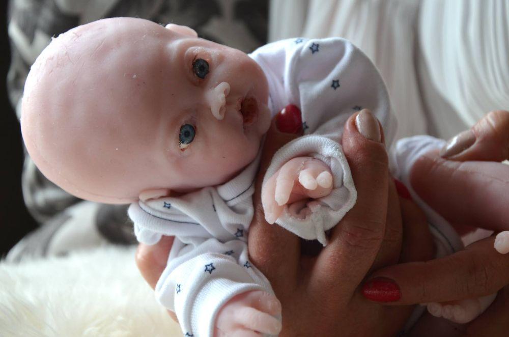 Drink Wet Boy Full Body Solid Silicone Baby Ooak Magdalena S Art Baby Doll Ebay