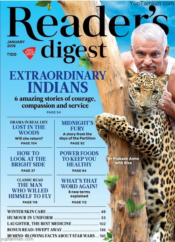 Reader's Digest India Magazine January 2019-PDF Download