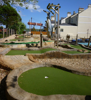 Treasure Island Adventure Golf in Plymouth, Devon
