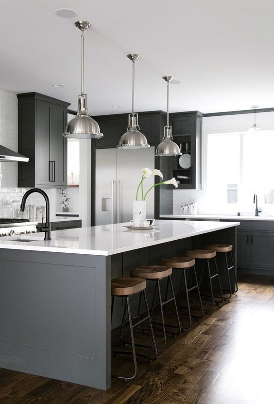 chic and modern kitchen decor idea you should to try