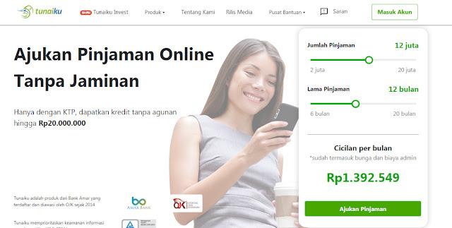 Tunaiku - pinjaman online terpercaya