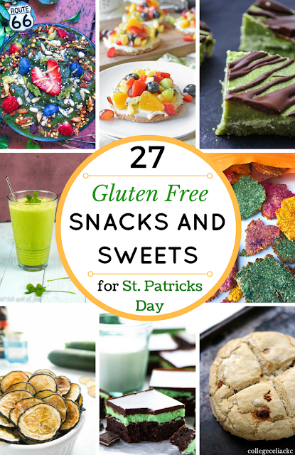 27 Gluten Free St. Patrick's Day Snacks and Sweets