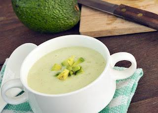 reteta supa rece avocado si castraveti prepararea simpla