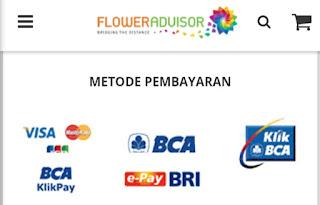 cara pembayaran di flower advisor