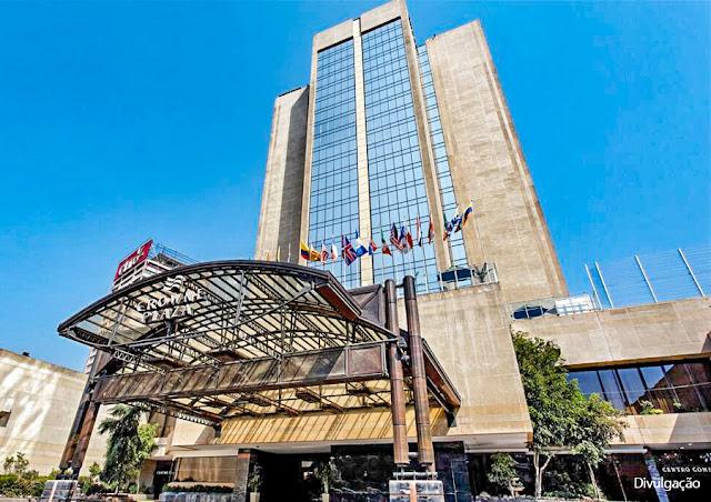 Crowne Plaza Hotel, em Santiago do Chile