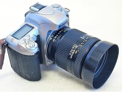 Nikon N75, AF Zoom-Nikkor 35-105mm F3.5~4.5 D