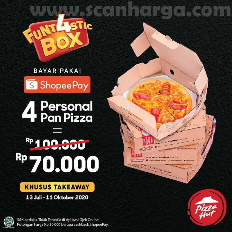 Promo Pizza Hut Terbaru Periode 13 Juli - 11 Oktober 2020