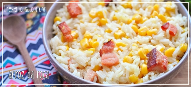 arroz da roça