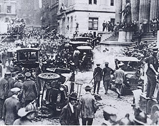 The 1920 Wall Street attack killed 38 people and wounded hundreds more