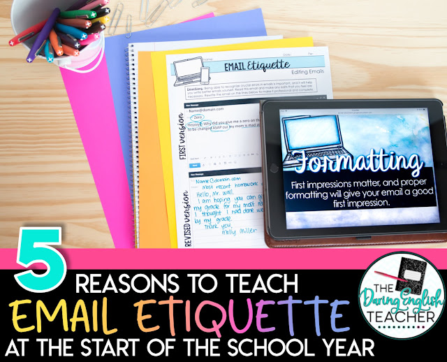 5 Reasons to Teach Email Etiquette at the Start of the School Year