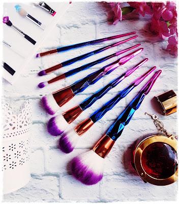 Unicorn Brushes From Aliexpress :P