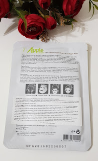 apple collagen maske