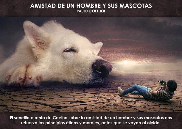 La Iluminacion Espiritual Amistad De Un Hombre Y Sus Mascotas