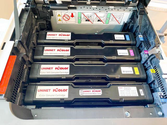 white toner printer, uninet icolor, printable materials, printer issues, sublimation