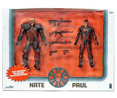 San Diego Comic-Con 2019 DIE!DIE!DIE! Stealth Edition Action Figure Box Set by Skybound