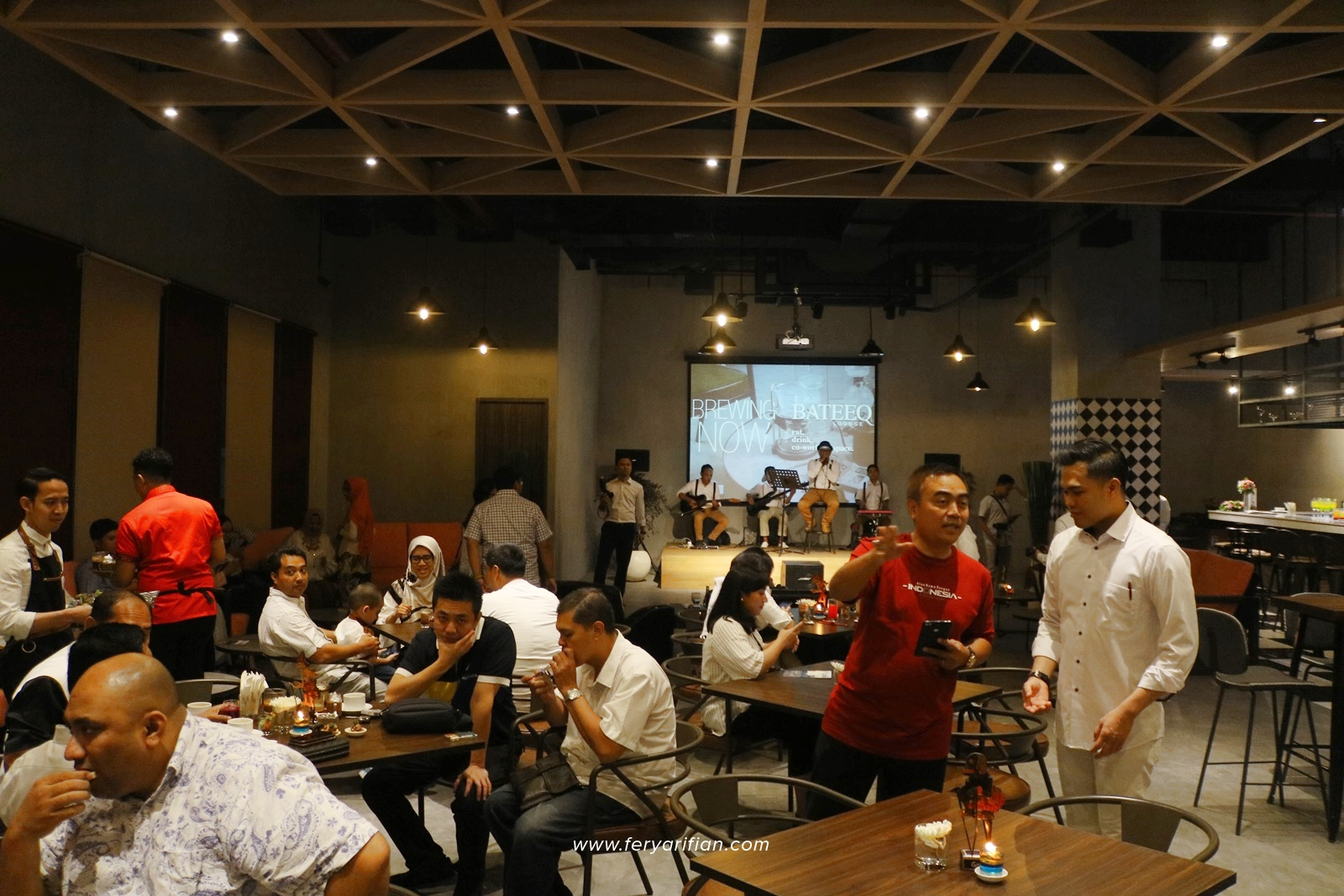 Bateeq Lounge Atria Hotel Malang - Food & Travel Blogger Malang