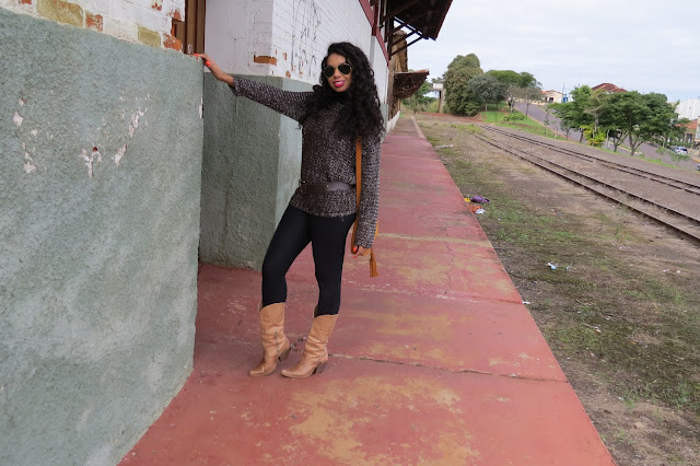 Look do dia com Bota Country