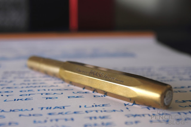 Kaweco Brass Sport fountain pen review