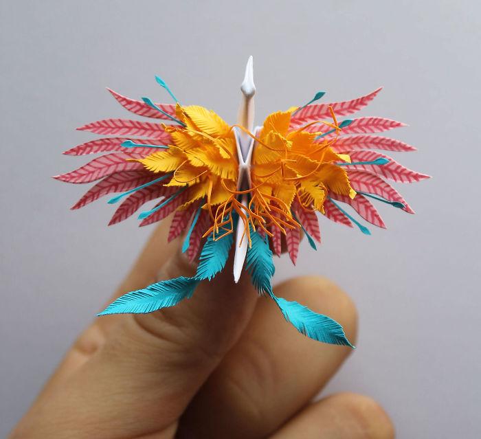 Ngỡ ngàng 20+ hình ảnh cách xếp hạc giấy Origami đẹp nhất - Trải Nghiệm Hay