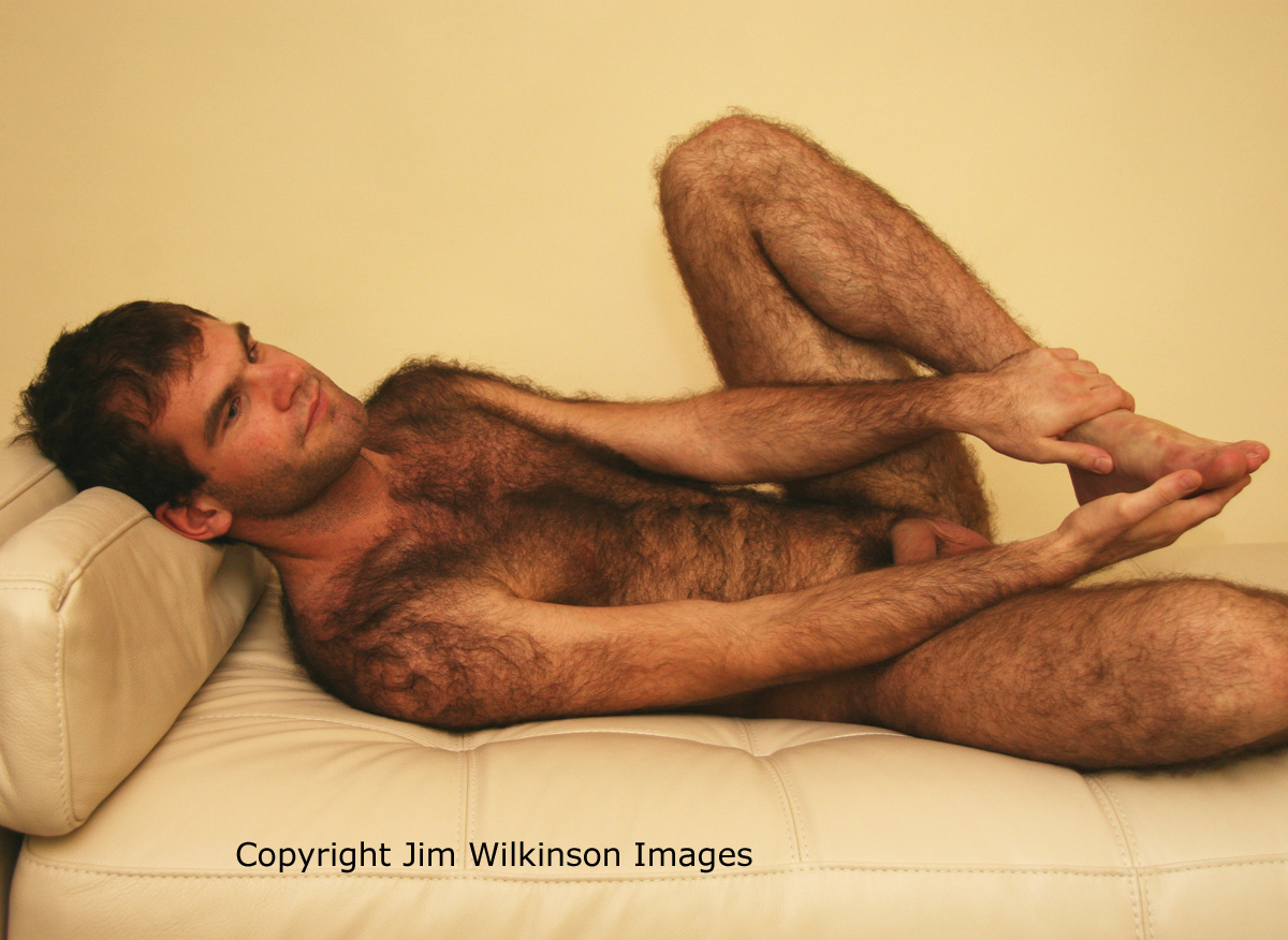 Hairy Young Men Nude