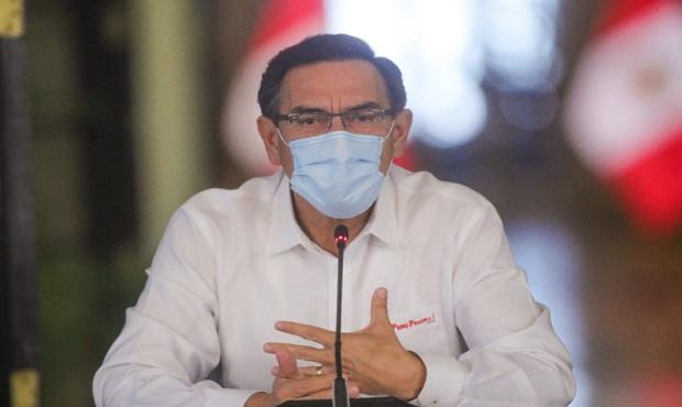 Encuesta Ipsos: El 79 % cree que presidente Vizcarra debe continuar en el cargo