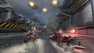 Sebuah game racing Hidrojet terlarang dengan nuansa masa depan Riptide GP Renegade apk