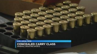 Residents Take Concealed Carry Classes After Recent Violence