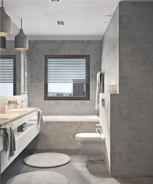 Modern House Interior Design Bathroom