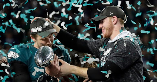 Finally Eagles win the Superbowl!!