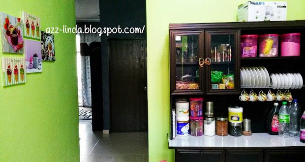 Susun Atur Tanpa Kitchen Cabinet