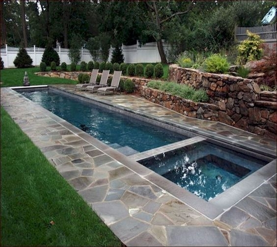 SILENGKAP: 35 Comfortable Simple Swimming Pools Design Ideas