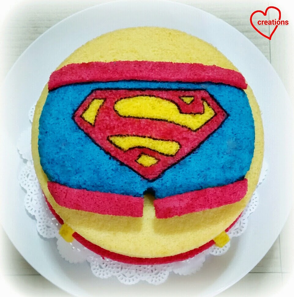 Superman Cake Batter Recipe