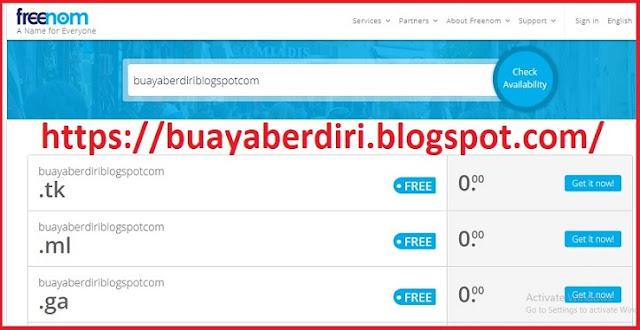 Freenom - Website Penyedia Domain Gratis / Free Domain