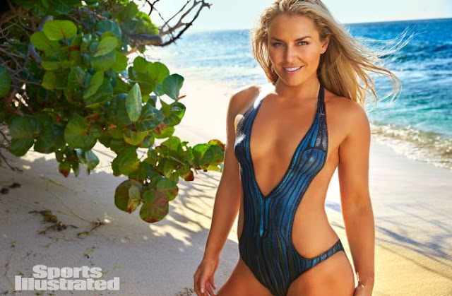 picture of lindsey vonn in sports illustrated SI swimsuit issue petit st. vincent
