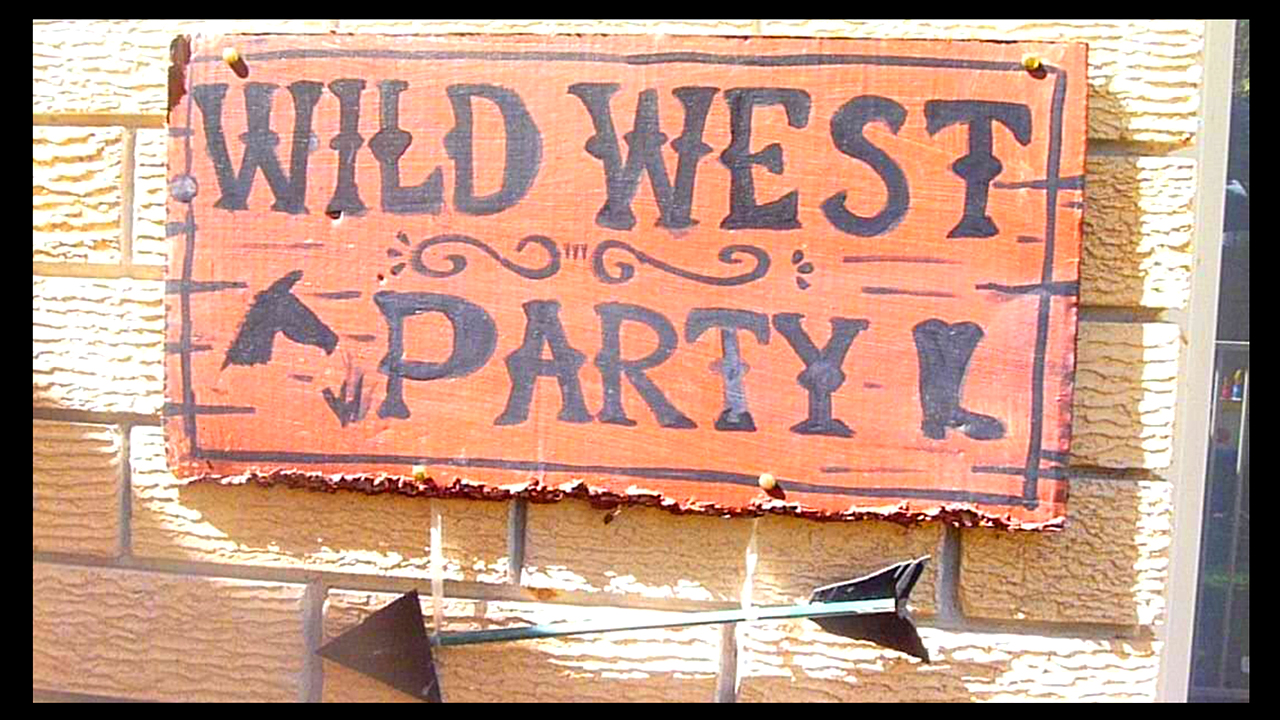 Forever Busy Mum Wild West Cowboy Party