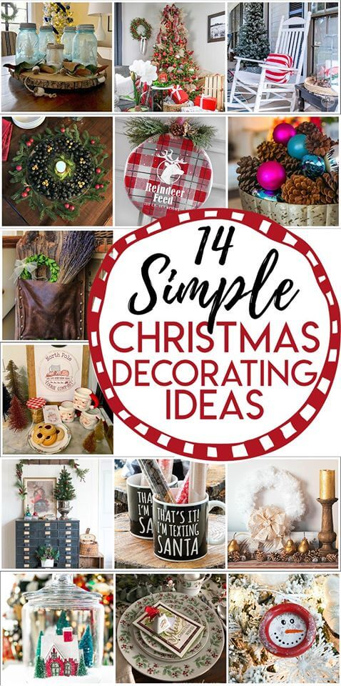 Thrifty Style Team Christmas decorating ideas