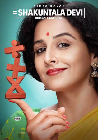 Shakuntala Devi 2020 WEB-DL 400Mb Hindi 480p Movie Download